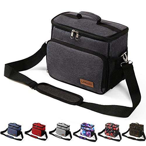 Adult Lunch Boxes For Men Heavy Duty Insulated Freezable Lunch Bags For Women Work Large Hard Lunch Pail As Thermal Thermos Tote Cooler