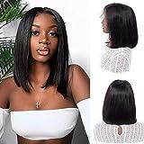 Best Brazilian Virgin Hairs - BLY Short Straight Bob Wigs Brazilian Virgin Human Review