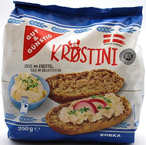 Gut und Günstig Krostini, 6er Pack (6 x 250g)