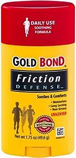 Gold Bond Friction Defense Stick Unscented 1.75 oz ( Pack of 5)