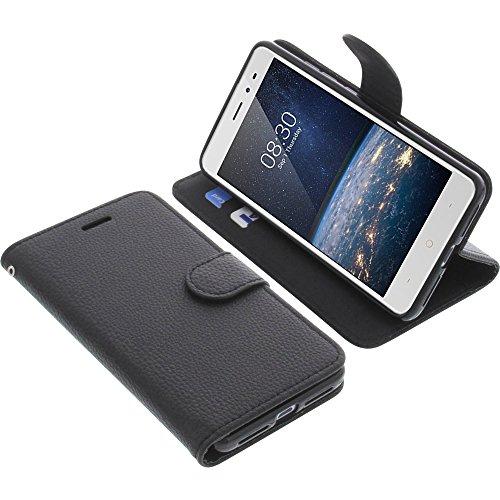 foto-kontor Tasche für TP-Link Neffos X1 Lite Book Style schwarz Schutz Hülle Buch
