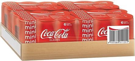 Coca-Cola Classic Mini Cans, 24 x 180ml