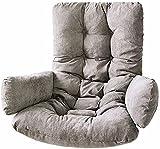 WYDM Cojines para sillas con Cesta Colgante para Columpios - Cojín Grueso para Colgar en Forma de Huevo, Alfombrillas Lavables para sofás para Columpios para Exteriores, Interiores 0819
