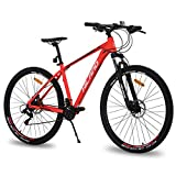 Hiland 29 Inch Mountain Bike for Men Adult Bicycle Aluminum Hydraulic Disc-Brake 16-Speed