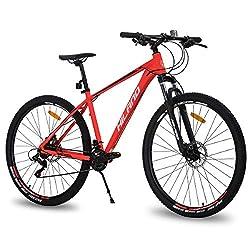 commercial Hiland Men's 29-inch mountain bike Adult bicycle Aluminum hydraulic disc brake 16-speed 17-inch … schwinn mountain bike