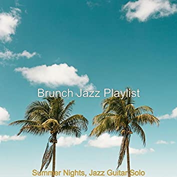 Summer Nights, Jazz Guitar Solo