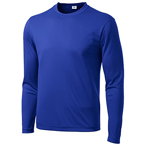 cc1ff7c11d69fc Opna Men s Long Sleeve Moisture Wicking Athletic Shirts
