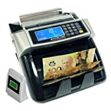 Polymer and Paper Canadian CAD USD Currency Bill Counter Plastic Money Banknote, Full