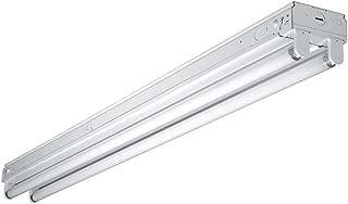 Metalux Tandem Fluorescent Strip Light 8 Ft. T8 Elect. White Ul