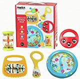 Halilit - Tambor para niños, set, colores surtidos