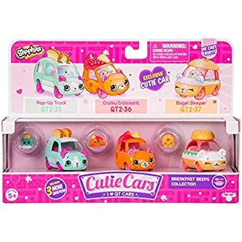 Cutie Cars Shopkins Three Pack - Breakfast Be | Shopkin.Toys - Image 1