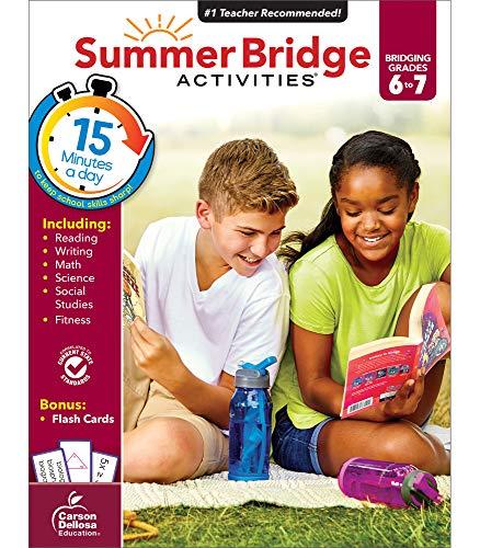 Summer Bridge Activities, Grades 6 - 7