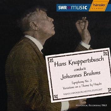 Brahms: Symphony No. 3 / Haydn Variations (Knappertsbusch) (1963)
