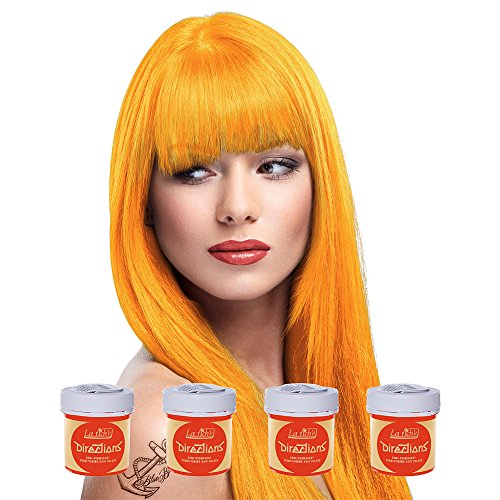 La Riche Directions Haartönung 4x 88ml (Apricot - Orange)