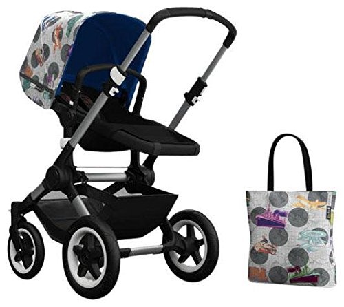 Bugaboo Buffalo Accessory Pack - Andy Warhol Transport/Royal Blue (Special Edition) by Bugaboo