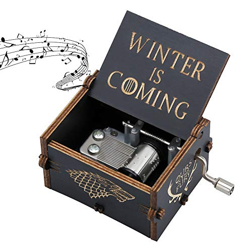 Zongteng Game of Thrones Spieluhr aus Holz Black-01