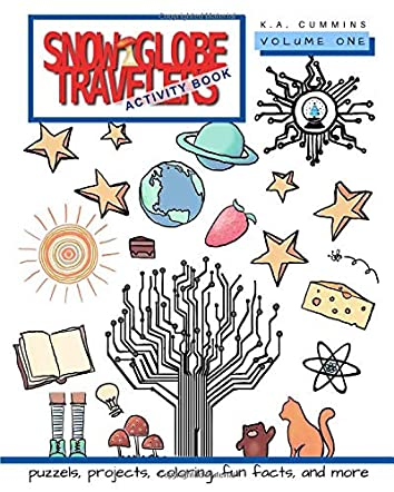 Snow Globe Travelers Activity Book