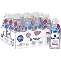 12-Pack Nestle Pure Life+ protect with Zinc 20 Fl. Oz. (blackberry flavor)