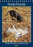 Hunde Freunde (Tischkalender 2021 DIN A5 hoch)