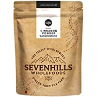 Sevenhills Wholefoods Canela Cruda En Polvo Orgánica (Verdadera Ceylon) 250g