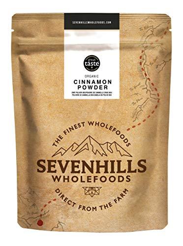 Sevenhills Wholefoods Canela Cruda En Polvo Orgánica (