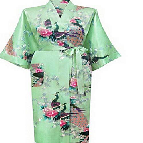 Handaxian Brautkleid Robe Silk Robes Silk Pyjamas Lässige Bademantel Rayon Lange...