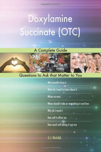 Doxylamine Succinate (OTC); A Complete Guide