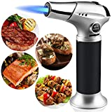 DAITBAN Culinary Butane Torch, Kitchen Refillable Cooking Torches Fit All Butane...