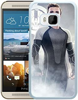 The Hunger Games Catching Fire Peeta White Shell Phone Case for HTC ONE M9,Nice Style