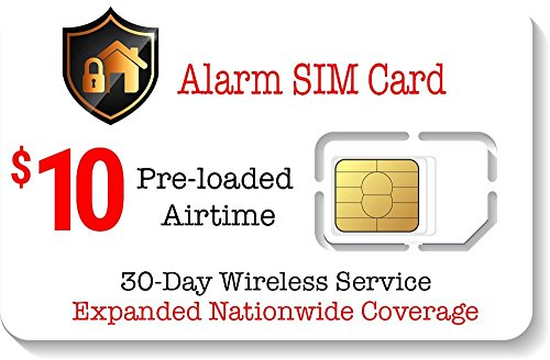 Alarm-SIM-Karte für GSM Home / Business Security Alarm System – 30 Tage Service