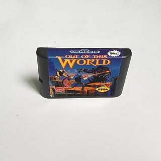 Lksya Out Of This World - Carte de jeu MD 16 bits pour cartouche de console de jeu vidéo Sega Megadrive Genesis (coque jap...