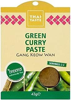Thai Taste Green Curry Paste Sachet - 43g