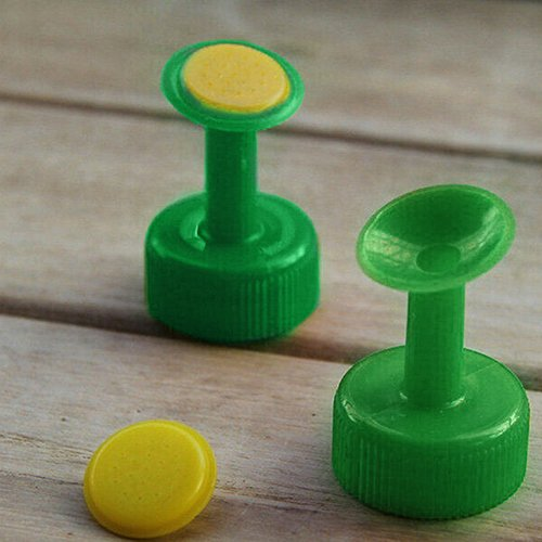 Sundatebe Flaschenaufsatz zur Bewässerung von Pflanzen, Sprinkler, 5 Stück