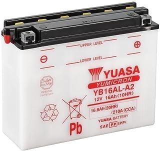 Batería Yuasa yb16al de A2, 12V/16ah (Dimensiones: 207x 72x 164) para Ducati 900SL Superlight Diseño Año 1996