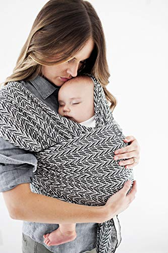 Moby Wrap Baby Carrier | Evolution | Baby Wrap Carrier for Newborns & Infants | #1 Baby Wrap | Baby Gift | Keep Baby Safe & Secure | Adjustable for All Body Types | Starry Nights of Salvador