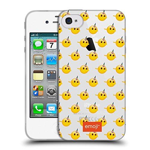 Head Case Designs Licenciado Oficialmente Emoji Patrón de Dab Sé un Unicornio Carcasa de Gel de Silicona Compatible con Apple iPhone 4 / iPhone 4S