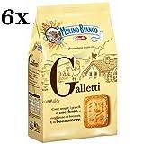 6x Mulino Bianco Kekse Galletti 350g Italien biscuits cookies kuchen brioche