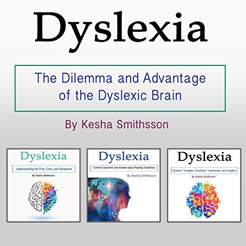 Dyslexia audiobook cover art