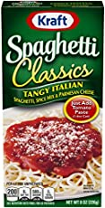 Kraft Tangy Italian Spagetti (8 oz Boxes, Pack Of 12)