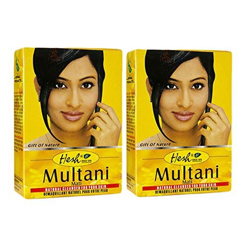 Hesh Pharma 100% Natural Herb Powder 100gm (3.5oz) (MULTANI MATI, 2 PACK)
