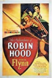 The Adventures Of Robin Hood 1938 c3208 A0 Poster on Canva