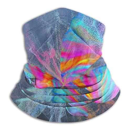 Calentador de Cuello Abstracto Colorido Mantequilla-Mosca Calentador de Cuello Pasamontaas a Prueba de Viento Capucha de Lana Sombreros de Invierno UV Gratis