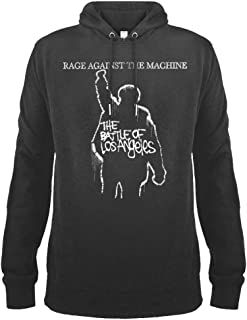 Amplified Clothing Rage Against The Machine 'The Battle of LA' (Slate) Pull Over Hoodie