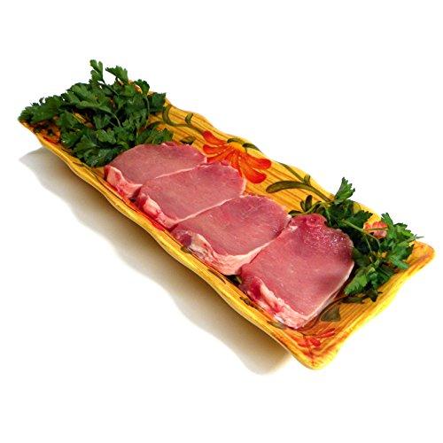 """All Natural Pork Loin Chops Boneless - Cut 4oz 8pk/ 1.25"""" Chops"""
