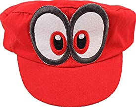 Red Super Mario Odyssey Baseball & Snapback Hat For Unisex