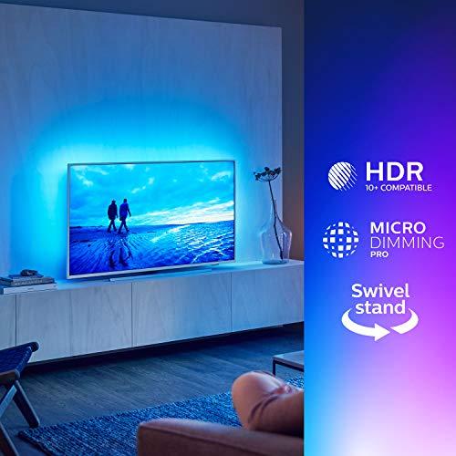 Philips 7300 series 55PUS7304/12 televisore 4K Ultra HD Smart TV Wi-Fi Bianco [Classe di efficienza energetica A]