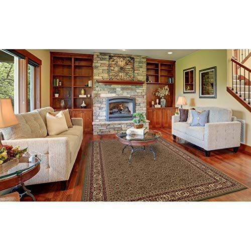 Concord Global Trading Concord Global Persian Classics Hearth Area Rug Sage/Ivory 7'10