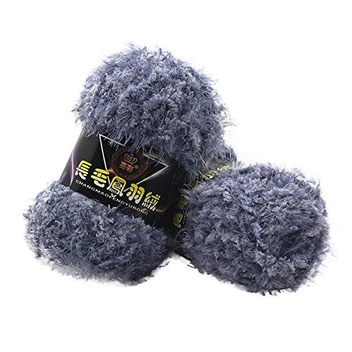 sunnymi 50g 3mm DIY Wolle Super Soft Baby Bambus Cotton Wool Häkeln Hand Stricken Kaschmir Garn Milch Baumwolle Geschenk Garn Strick Wolle Pullover Hüte Schals Decke (H, 3mm)