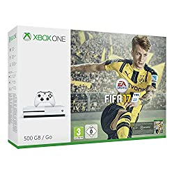 Xbox One S 500GB-konsoli - FIFA 17 Bundle