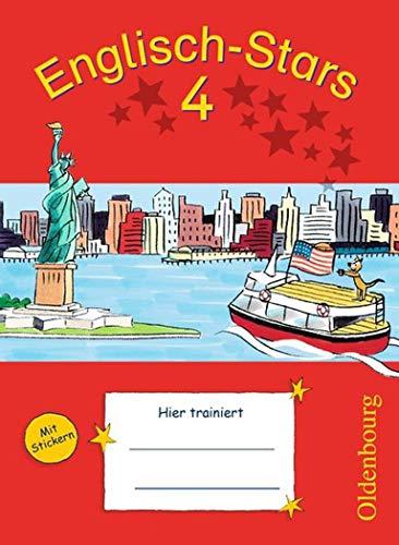 Englisch-Stars - Allgemeine Ausgabe: Englisch-Stars 4. Schuljahr. Übungsheft: Mit Lösungen